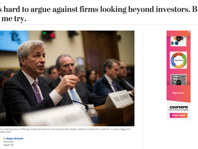 Response to Megan McArdle: Why the Business Roundtable Decision is Good for Shareholders Too