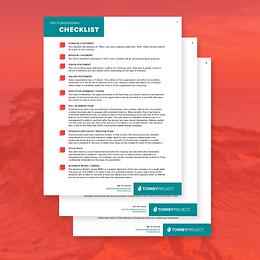 Fundraising Checklist