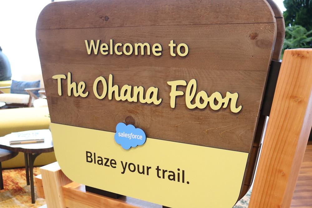 Salesforce Ohana Floor - Torrey Project