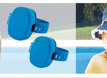 Bracelet anti noyade Blue Protect (Test produit)
