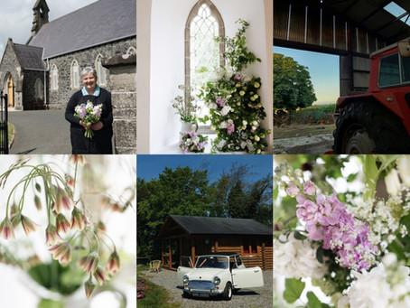 FLOWER CAR COLLABORATION with Beechfield Flower Farm