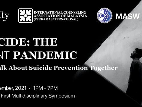 "Let's talk about suicide: ""Suicide: The Silent Pandemic"" Symposium"