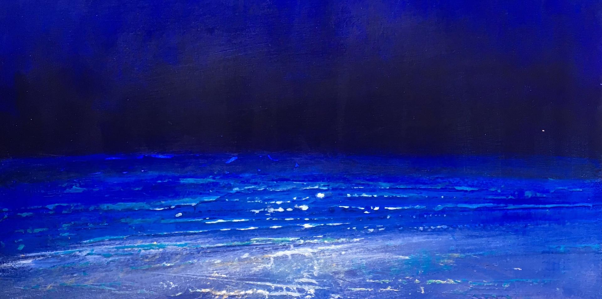 Blue beach