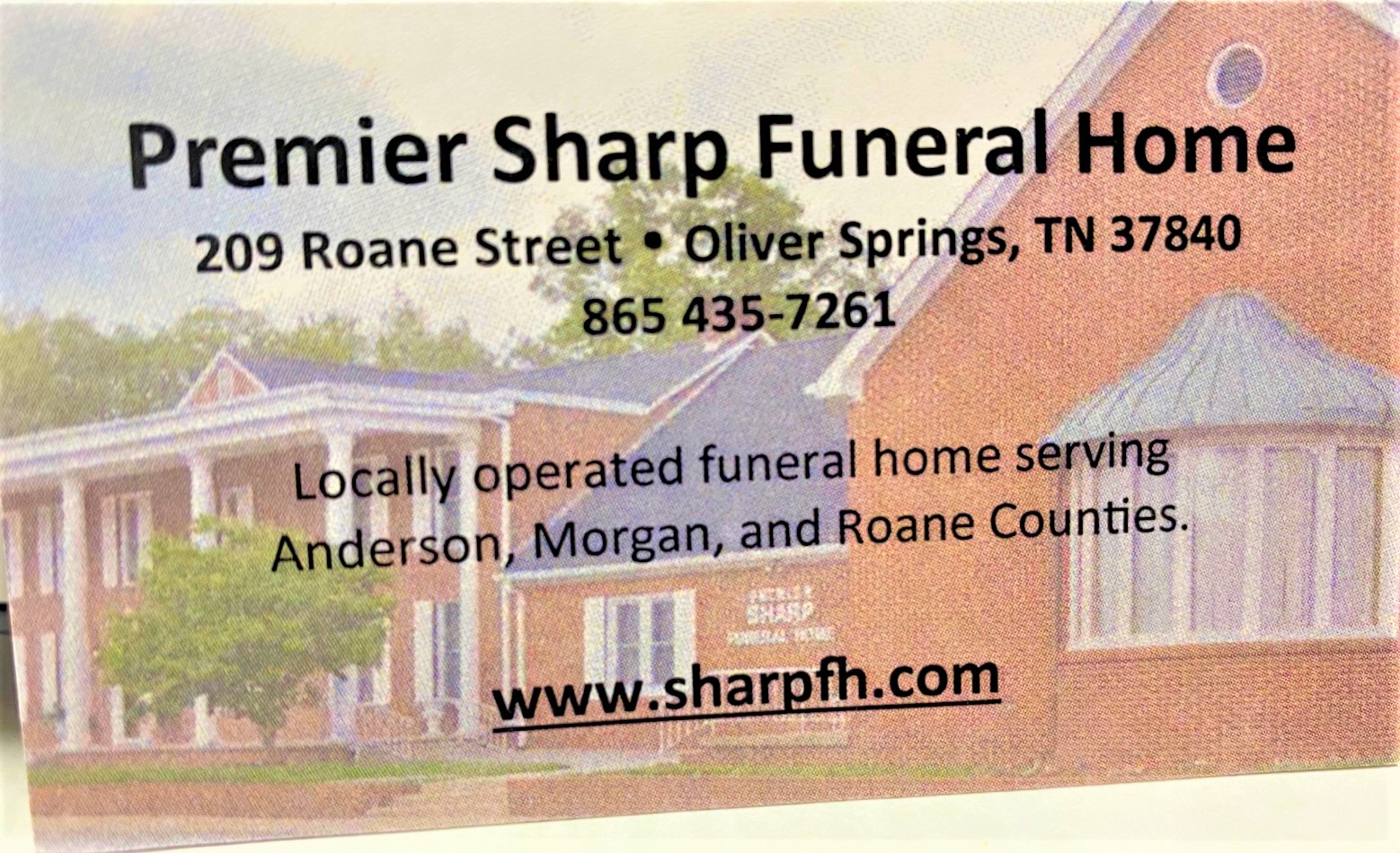Sharp Funeral Home Logo