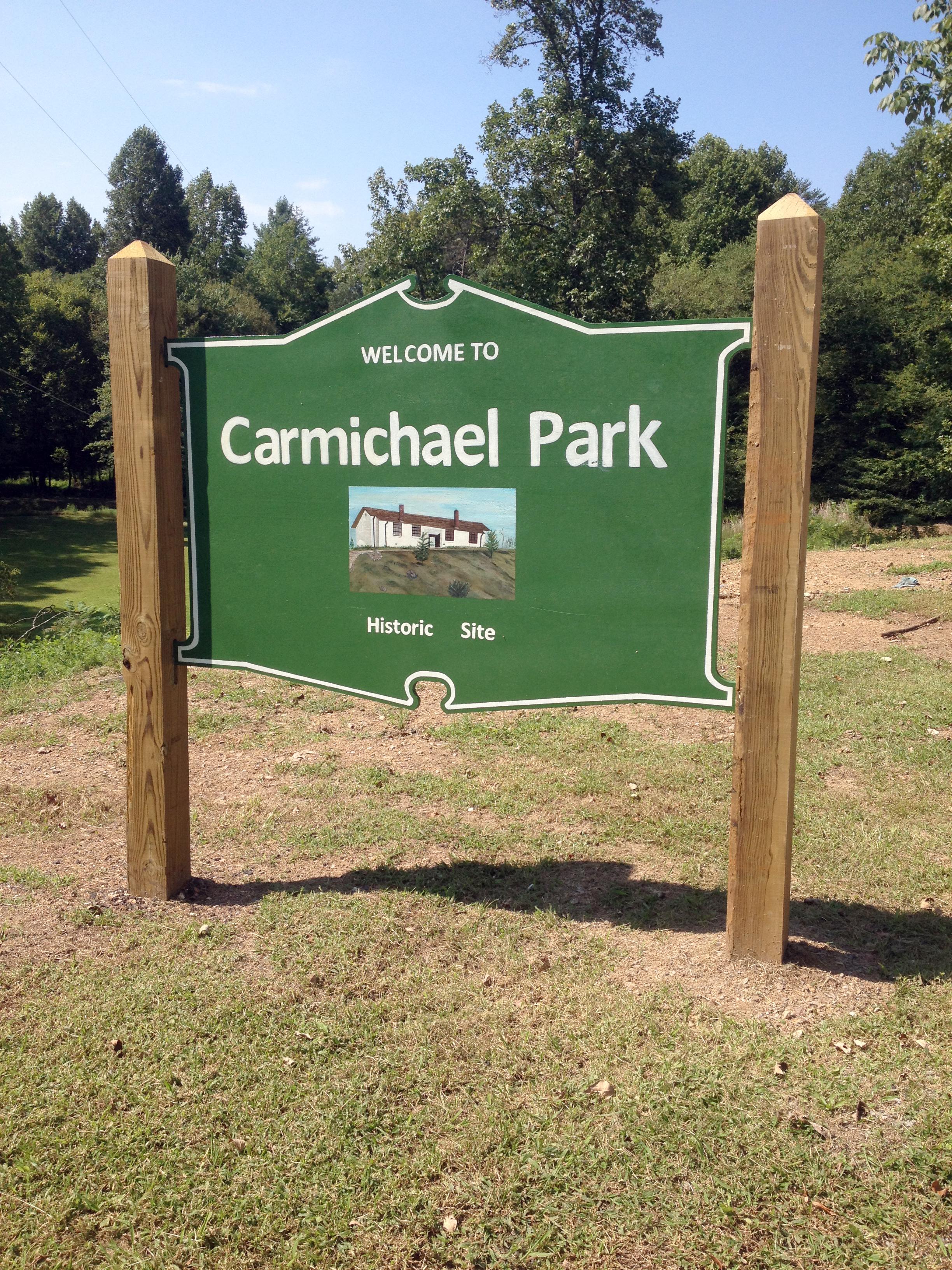 mcso park sign