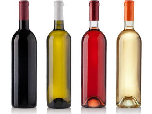 Cassa di vino pregiato