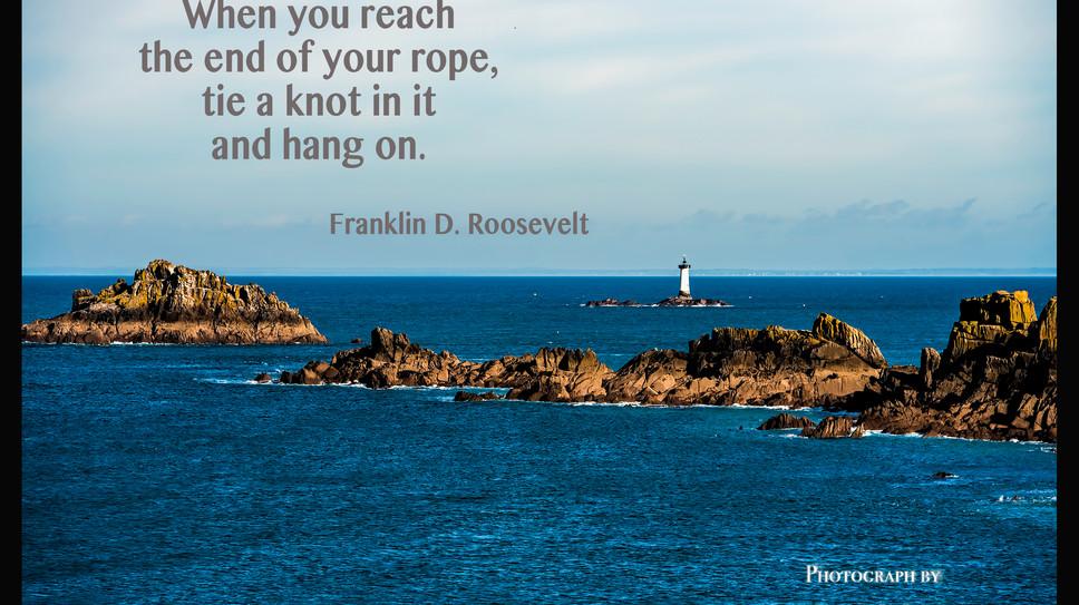 When you reach...