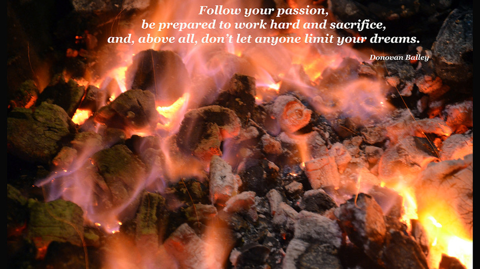 Follow your passion...