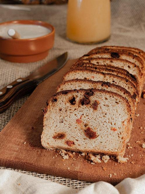Pão de Tomate Seco e Orégano