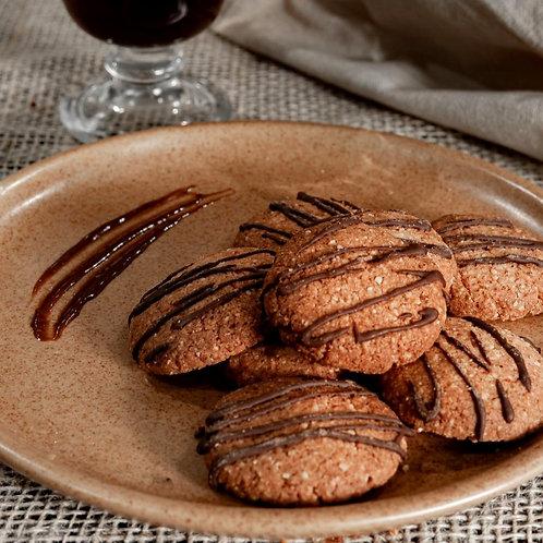 Mini Cookies de Amêndoas