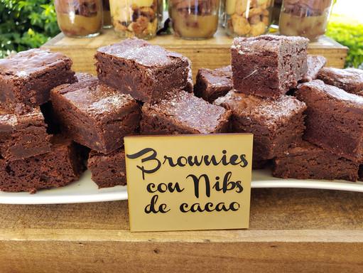 Brownies con Nibs de Cacao