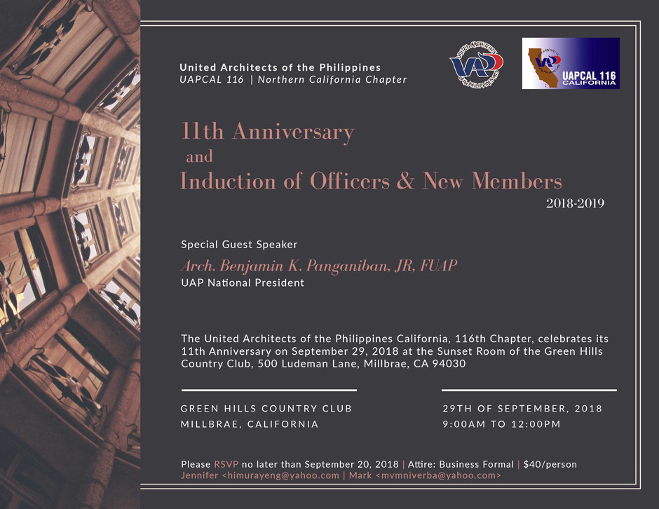 Induction of Officers & New Members