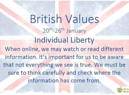 British Values (20th January 2020)