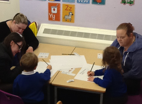 Reception Reading Workshop
