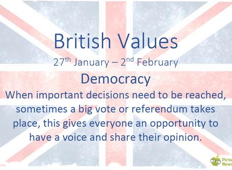 British Values (27th January 2020)