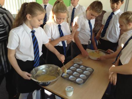 Year 6 Cake Making