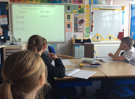 Learning Walk (Y6 Maths)