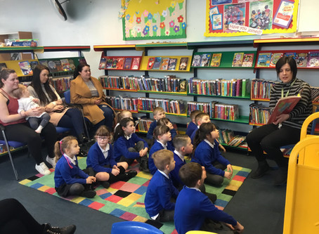 Story Morning at the Library