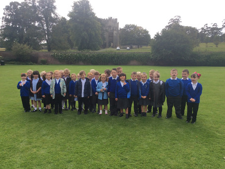 Year 2 Visit Raby Castle