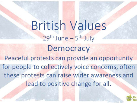 British Values (29th June 2020)