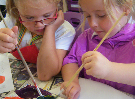 Colour Mixing in Year 1