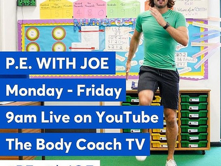 P.E. At Home with Joe Wicks