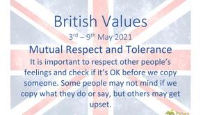 British Values (3rd May 2021)