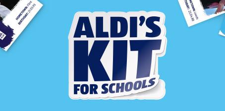 Aldi's Kit For School Stickers