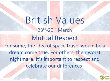 British Values (23rd March 2020)