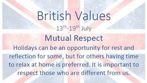 British Values (13th July 2020)