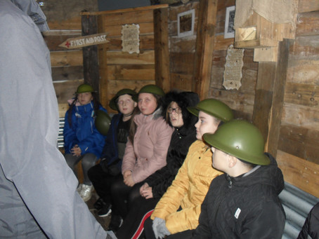 Year 6 Visit the Heugh Battery Museum