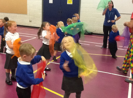 Circus Skills Workshop for Reception