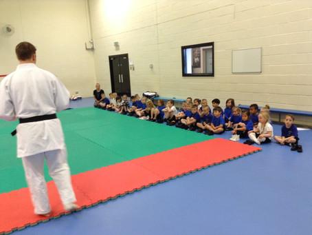 Reception Enjoy Judo Session