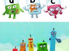 Early Years - Numberblocks & Alphablocks