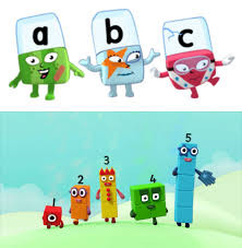 Early Years - Numberblocks & Alphablocks
