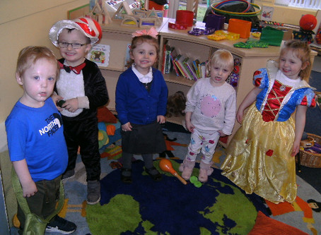 Nursery - World Book Day