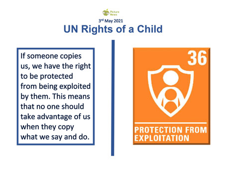 UN Rights of a Child (3rd May 2021)