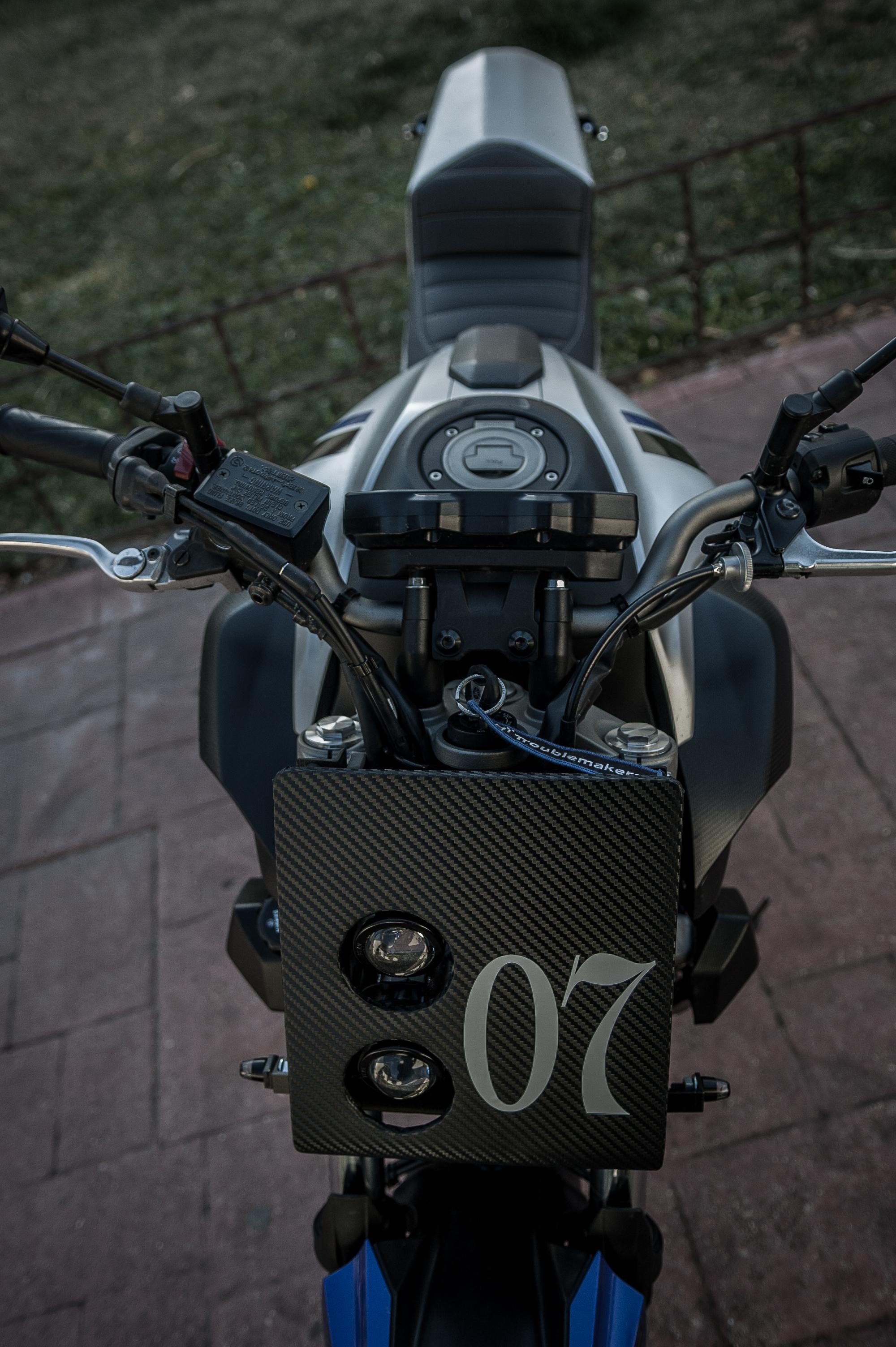 Yamaha MT 07 Tracker Fiberglass Kit