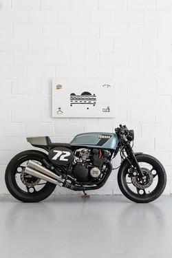 Yamaha XJ600 Cafe Racer