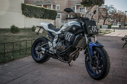 Yamaha MT 07 Tracker Fiberglass Kit