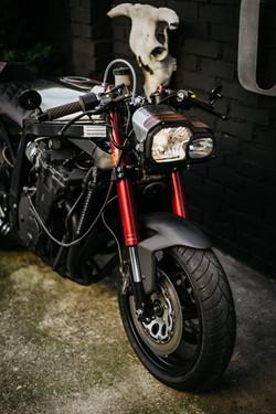 Suzuki GSXR 750 Cafe Fighter