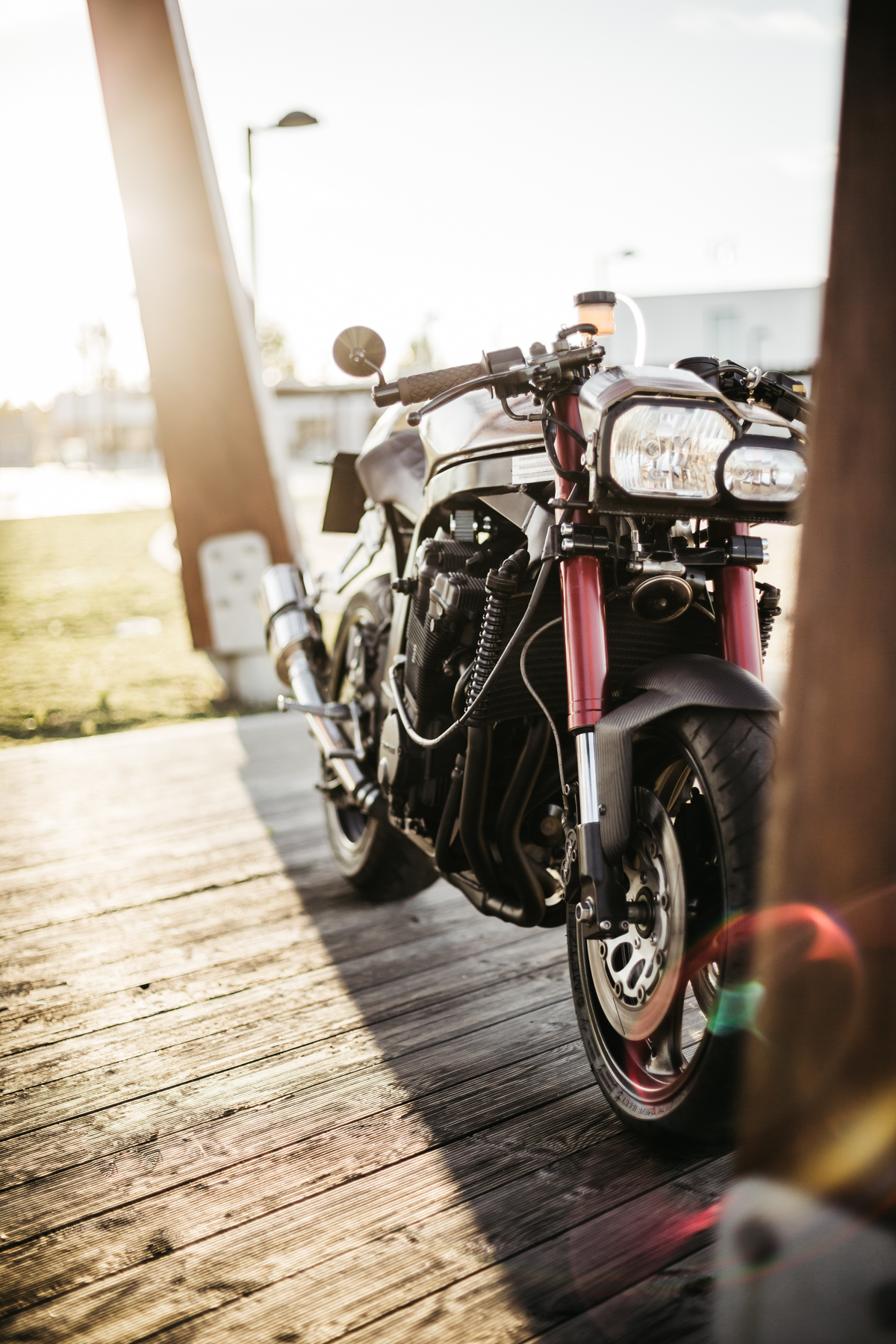 Suzuki GSXR 750 Cafe Fighter