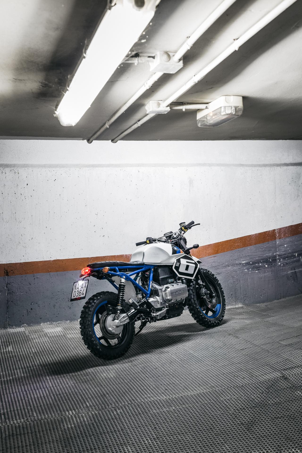 BMW K75 Xcrambler