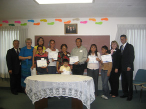 Graduating from Daily Dose English Class