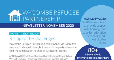 Newsletter November screenshot