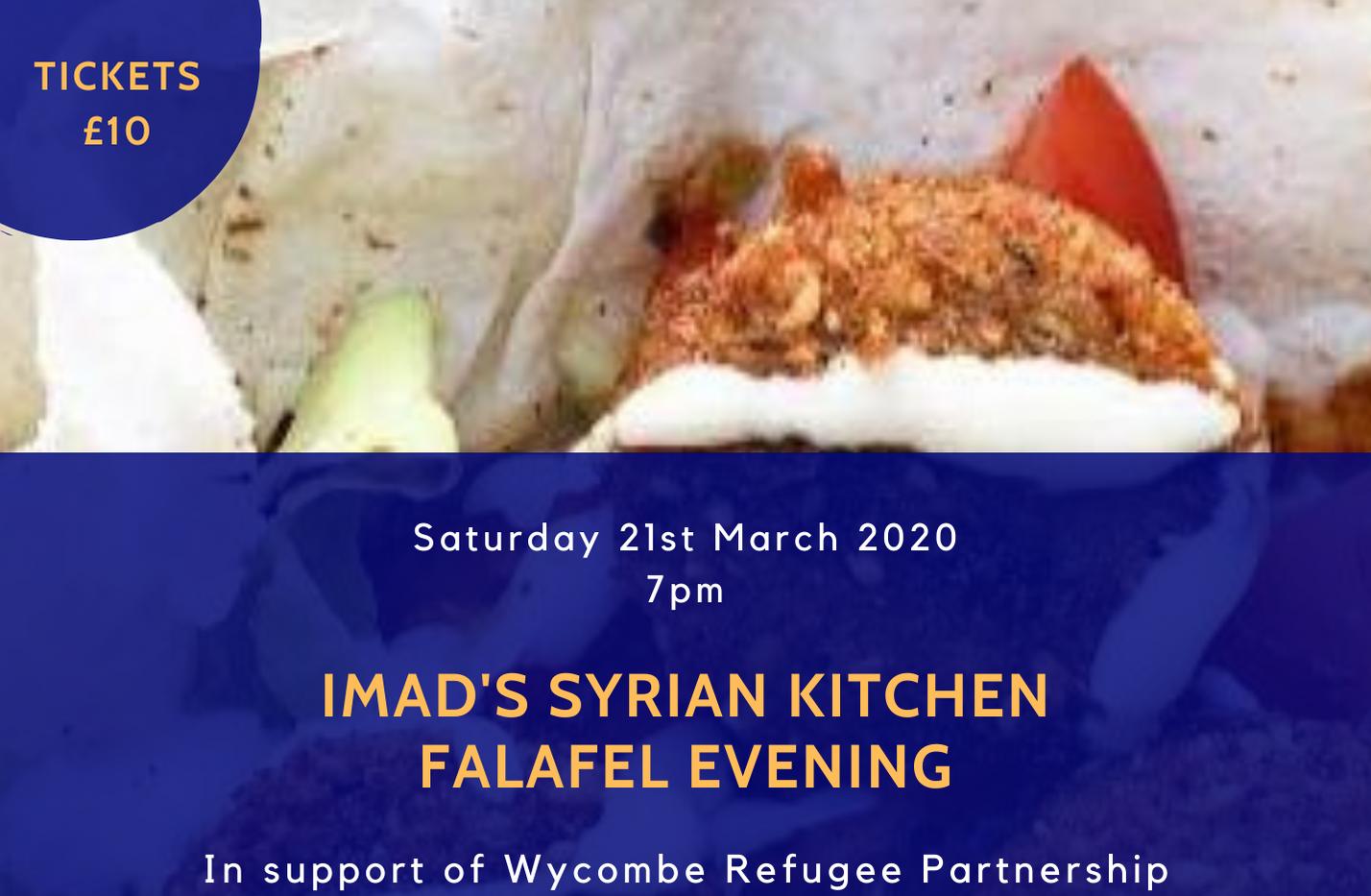 Imad's Syrian Kitchen Falafel Evening.pn