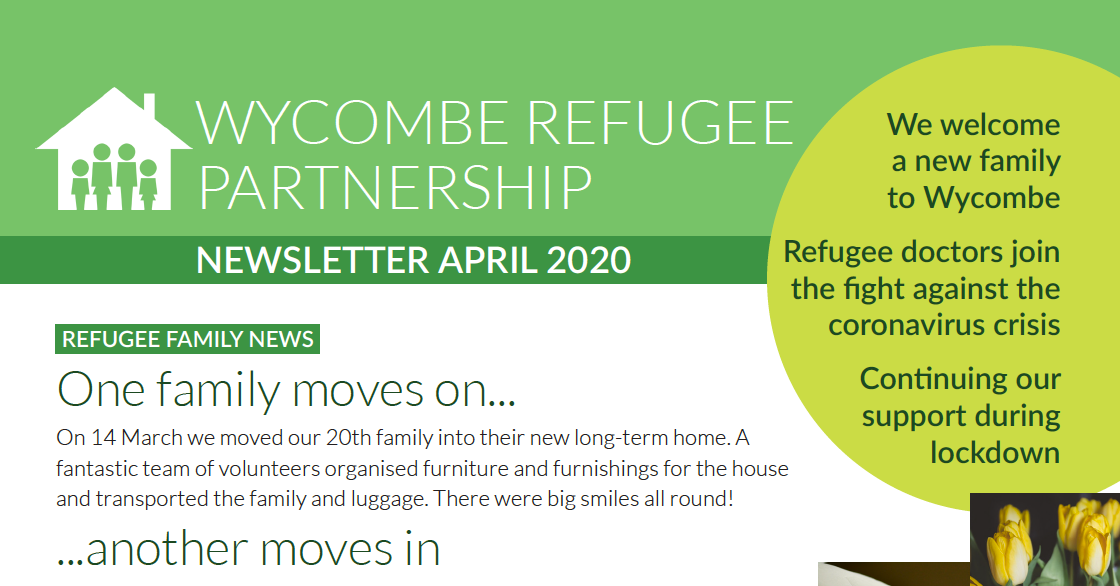 April Newsletter 2020
