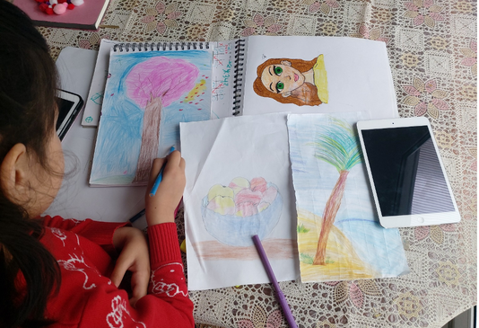 Drawing pictures