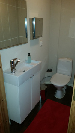Jalkahoitola Liisan wc-tilat