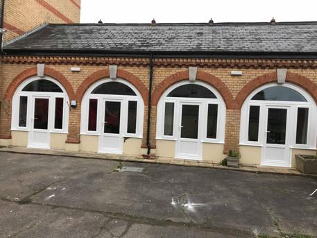 White pvc Doors